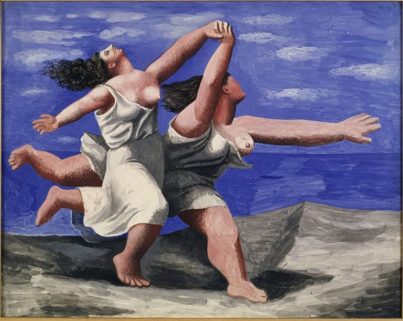 Pablo Picasso, Deux femmes courant sur la plage (La course), 1922 © Succession Picasso 2017 © Musee Picasso, Paris, France