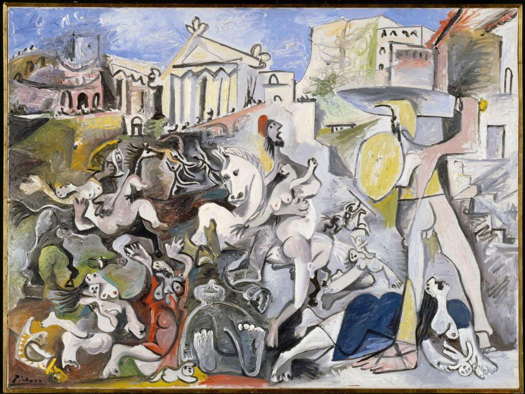 Pablo Picasso, L'Enlèvement des Sabines, 1962