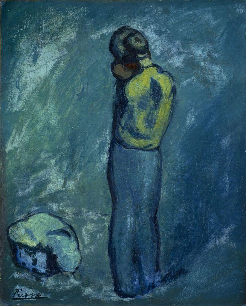 Pablo Picasso, Mère et enfant, 1902