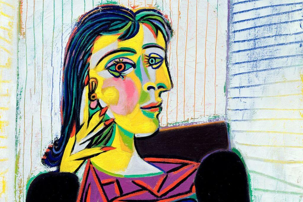 Pablo Picasso, Portrait de Dora Maar,1937 © Succession Picasso 2018 © Bridgeman Images