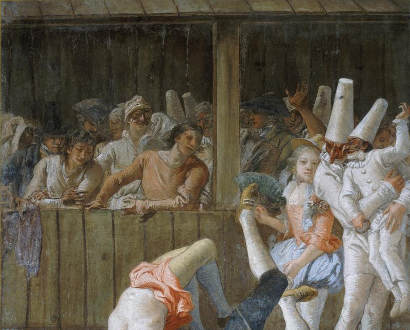 Tiepolo Gian Domenico (1727-1804). Italie, Venise, Ca'Rezzonico. CSE-S-000699-9459.