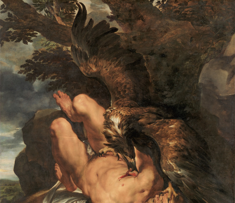 Peter Paul Rubens, Prométhée, Rubens, le pouvoir de la transformation, Kunsthistorisches Museum, Vienne