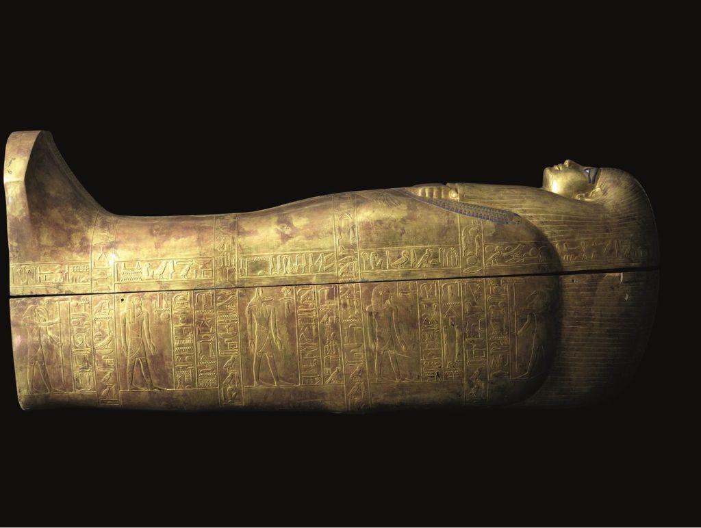 Sarcophage de Touya, Vallée des Rois, tombe de Youya et Touya, Le Caire © Laboratoriorosso Srl