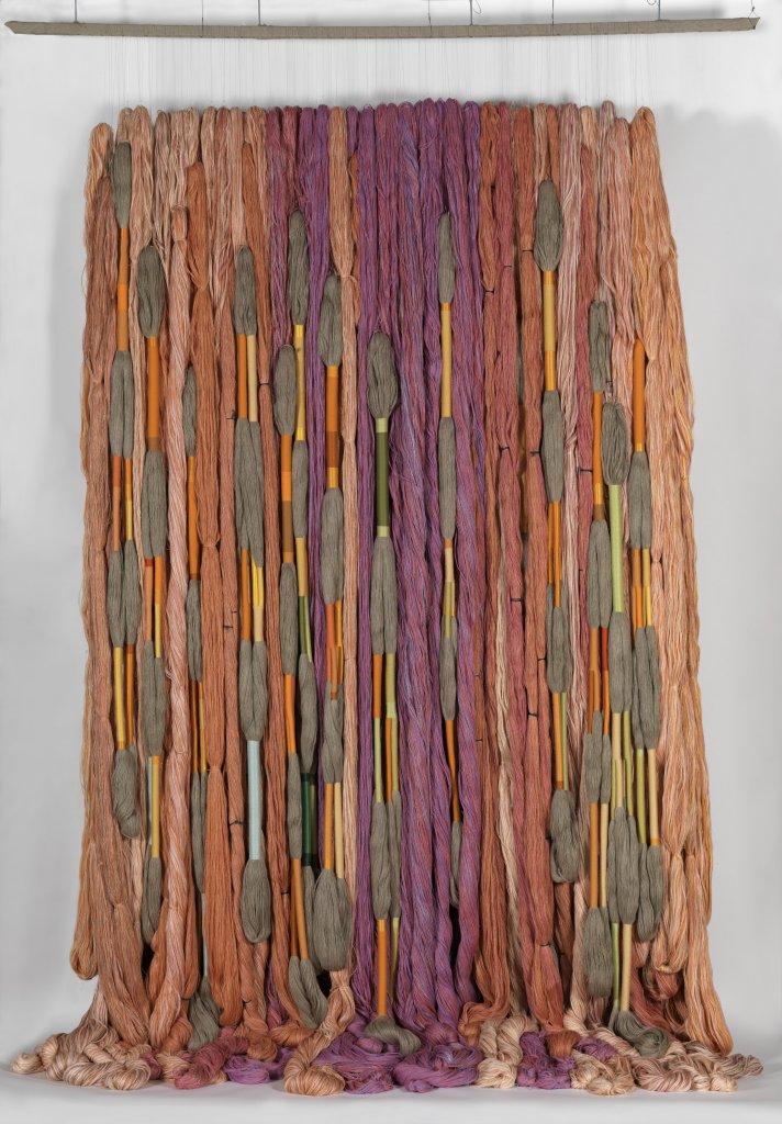 Sheila Hicks, Lianes de Beauvais, 2011-2012 - Exposition Sheila Hicks, Lignes de vie au Centre Pompidou