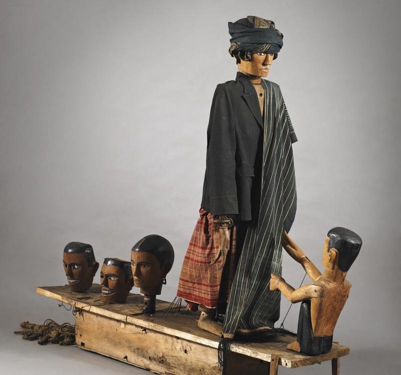 Si Gale-gale, Batak Toba, North Sumatra, Indonesia, Ancêtres et Rituels, Bozar, Bruxelles