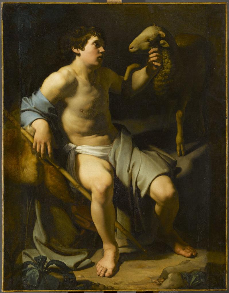 Saint Jean-Baptiste tenant un mouton