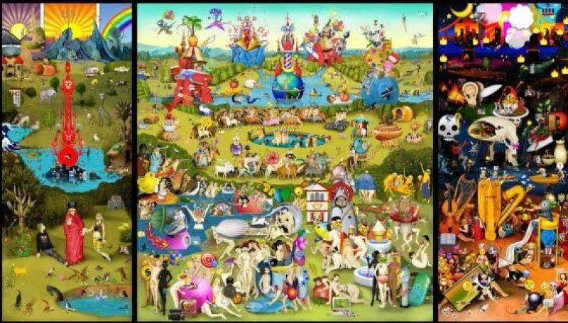 Carla Gannis, The Garden of Emoji Delights - Exposition La Belle Vie Numérique à la Fondation EDF