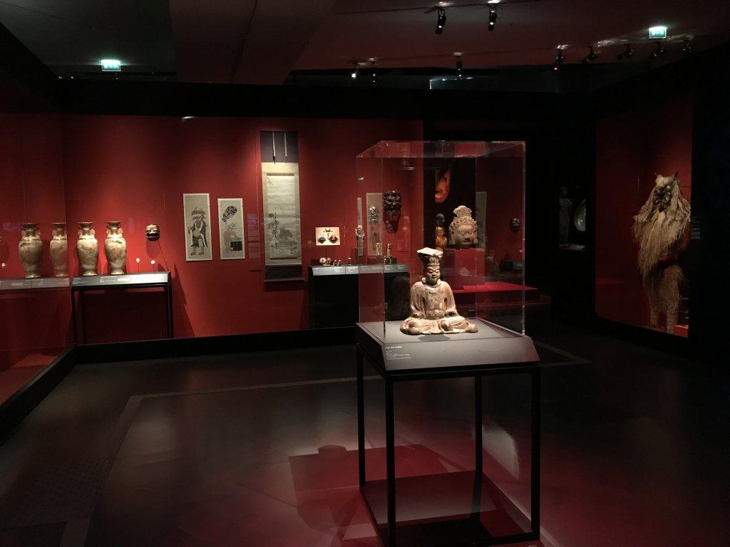Vue de l'exposition Enfers et fantômes d'Asie - Musée du Quai Branly - Jacques Chirac (14)