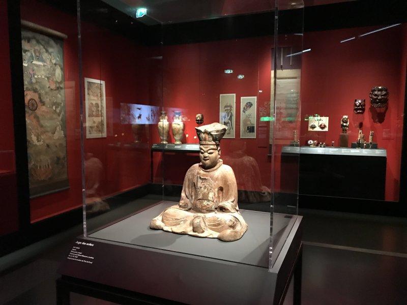 Vue de l'exposition Enfers et fantômes d'Asie - Musée du Quai Branly - Jacques Chirac (16)