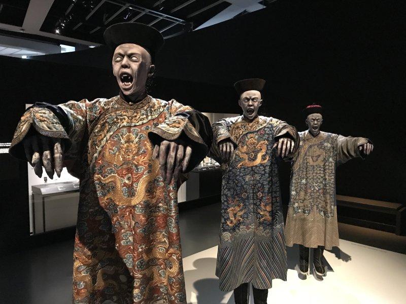Vue de l'exposition Enfers et fantômes d'Asie - Musée du Quai Branly - Jacques Chirac (2)