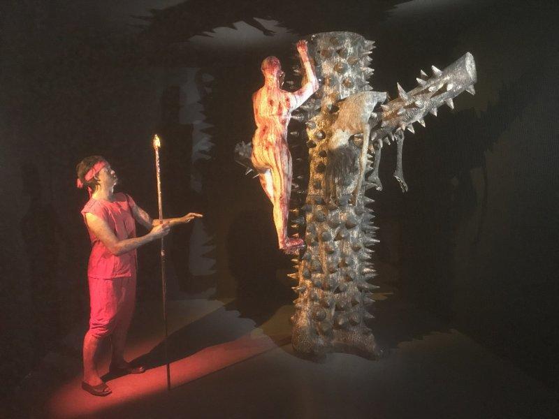 Vue de l'exposition Enfers et fantômes d'Asie - Musée du Quai Branly - Jacques Chirac (21)