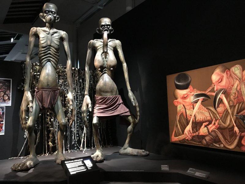 Vue de l'exposition Enfers et fantômes d'Asie - Musée du Quai Branly - Jacques Chirac (40)