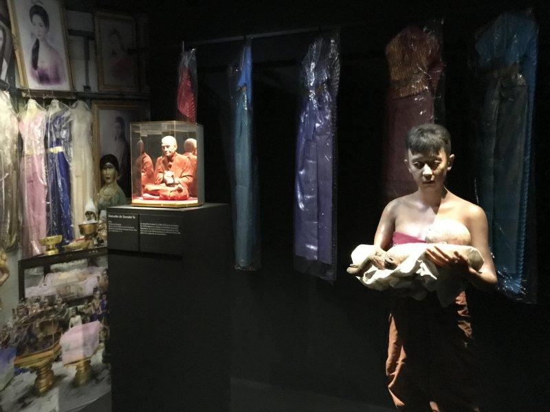 Vue de l'exposition Enfers et fantômes d'Asie - Musée du Quai Branly - Jacques Chirac (45)
