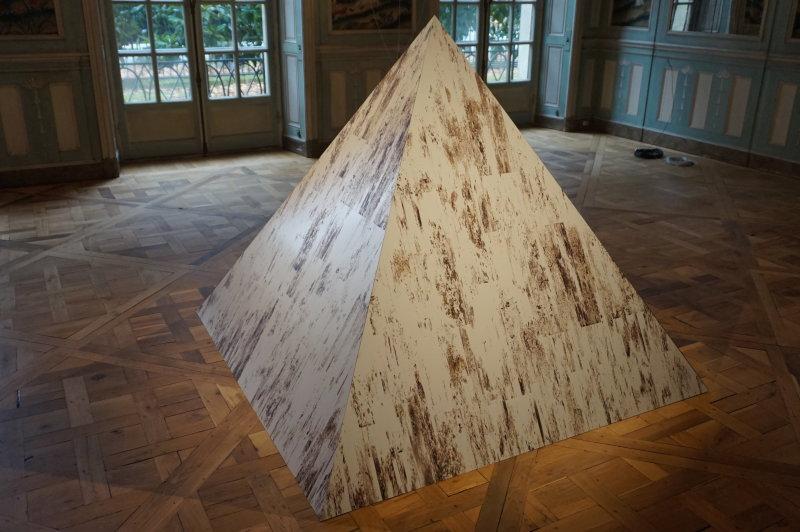 Vue de l'exposition Evan Roth au Mona Bismarck Center