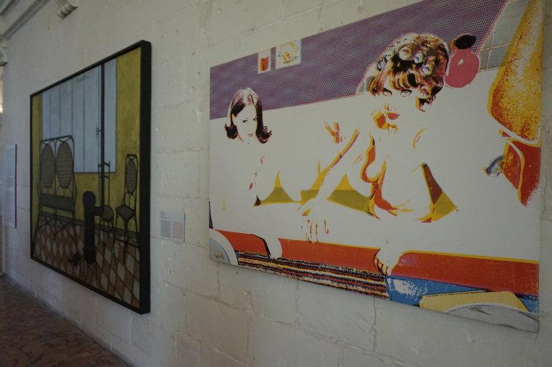 Vue de l'exposition Georges Pompidou, Château de Chambord