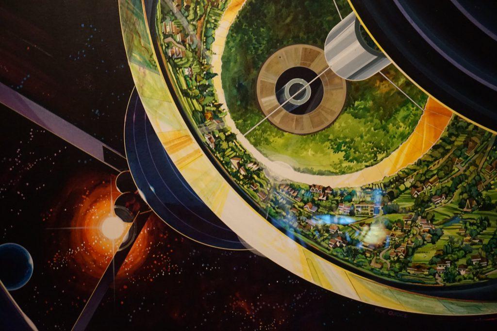 Vue de l'exposition Globes à la Cité de l'Architecture et du Patrimoine (1)