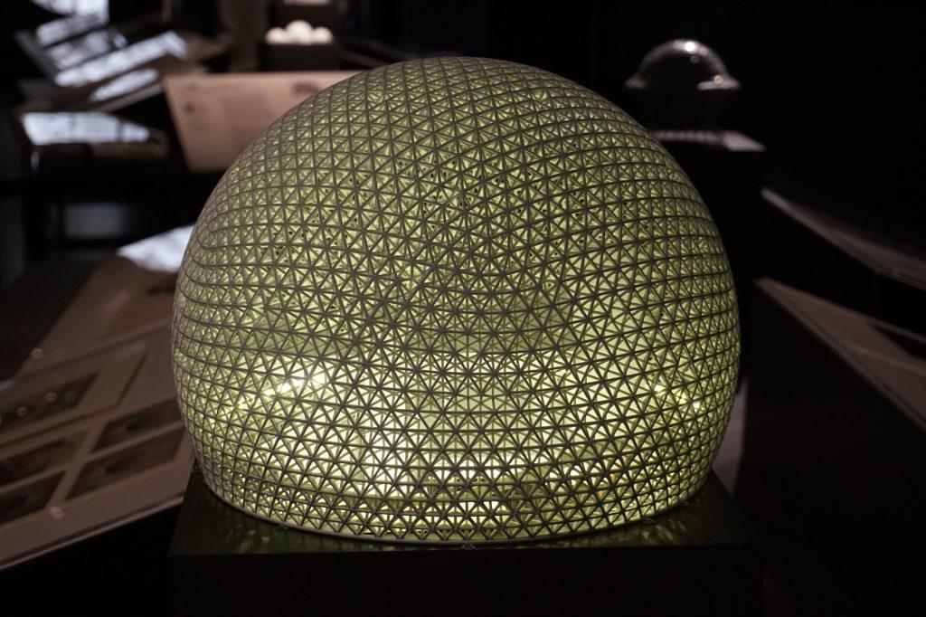 Vue de l'exposition Globes à la Cité de l'Architecture et du Patrimoine (34)