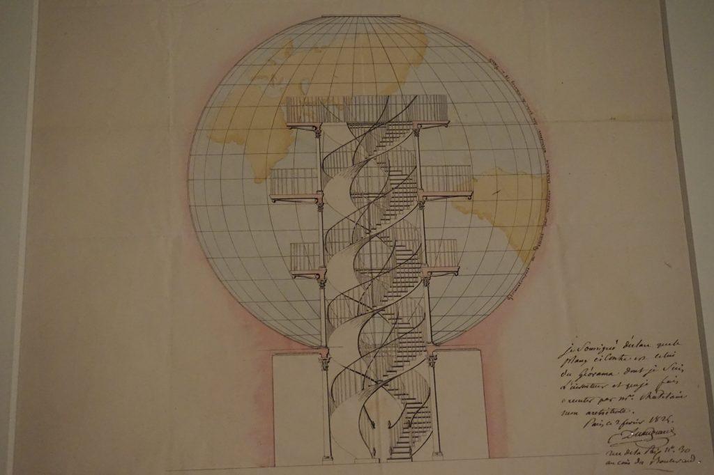 Vue de l'exposition Globes à la Cité de l'Architecture et du Patrimoine (46)
