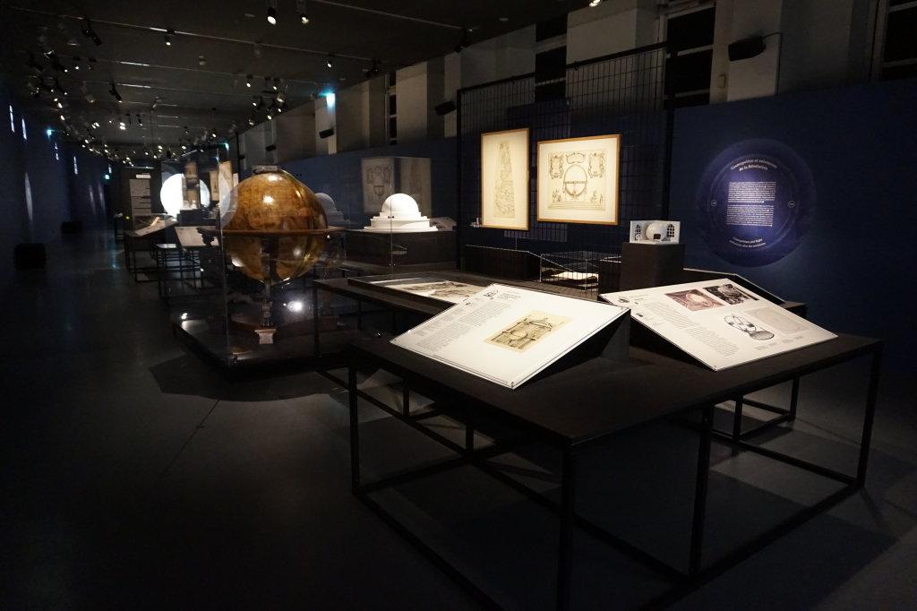 Vue de l'exposition Globes à la Cité de l'Architecture et du Patrimoine (6)