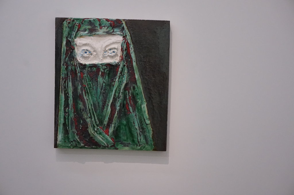 Vue de l'exposition Johan Creten à la galerie Perrotin (23)