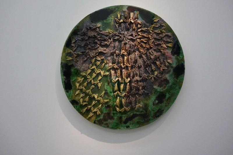 Vue de l'exposition Johan Creten à la galerie Perrotin (25)