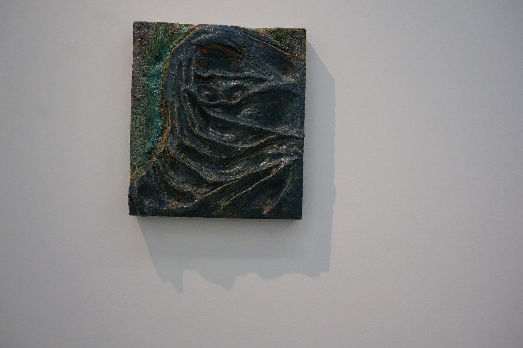 Vue de l'exposition Johan Creten à la galerie Perrotin (31)