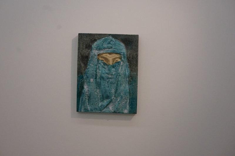 Vue de l'exposition Johan Creten à la galerie Perrotin (32)