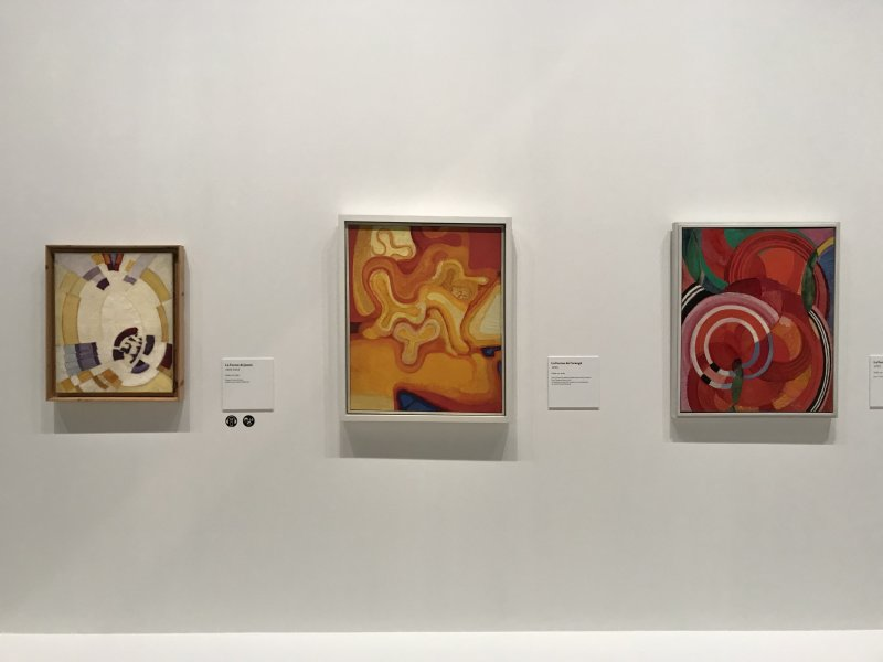 Vue de l'exposition Kupka, Pionnier de l'abstraction - Grand Palais