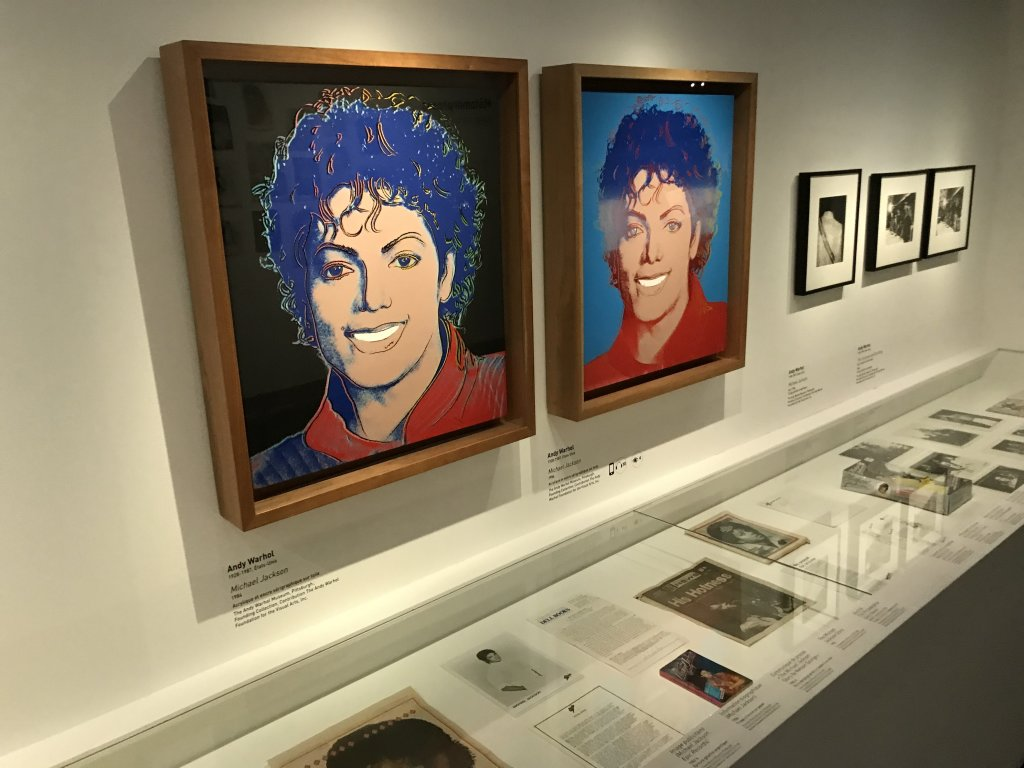 Vue de l'exposition Michael Jackson, On the Wall - Grand Palais (10)