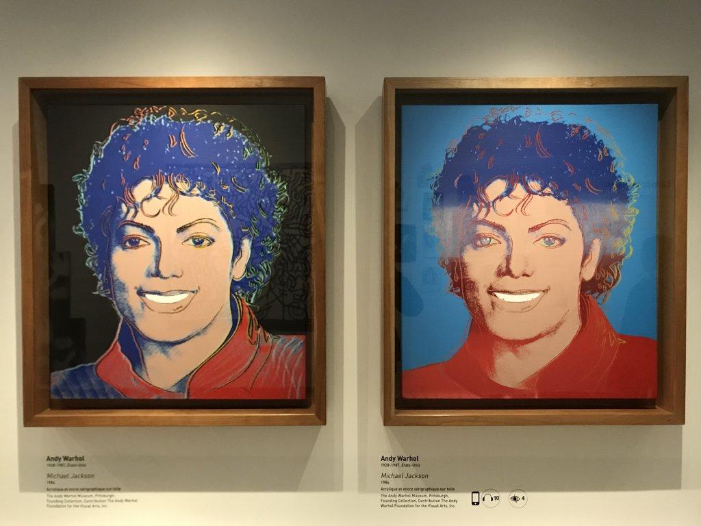 Vue de l'exposition Michael Jackson, On the Wall - Grand Palais (16)