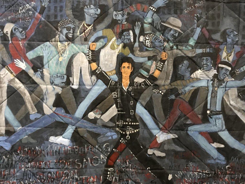 Vue de l'exposition Michael Jackson, On the Wall - Grand Palais (20)