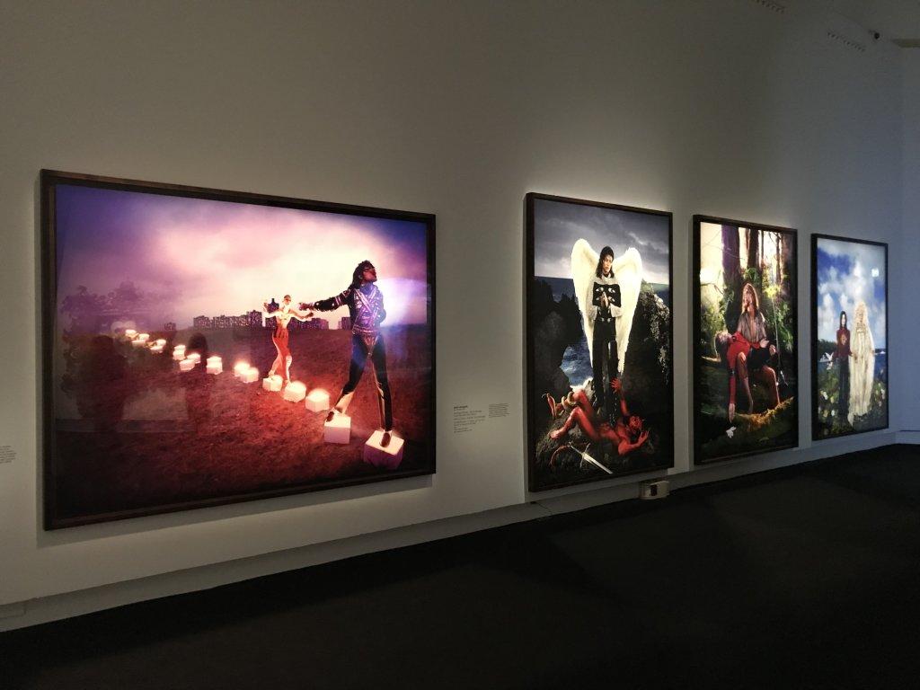Vue de l'exposition Michael Jackson, On the Wall - Grand Palais (23)