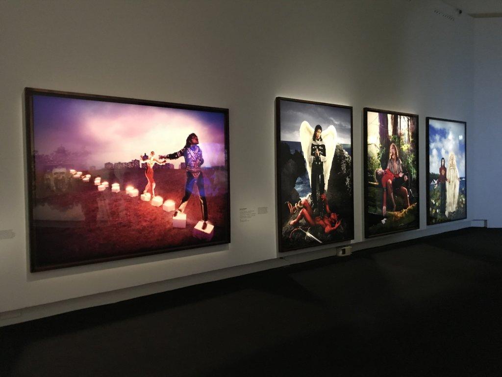 Vue de l'exposition Michael Jackson, On the Wall - Grand Palais (24)