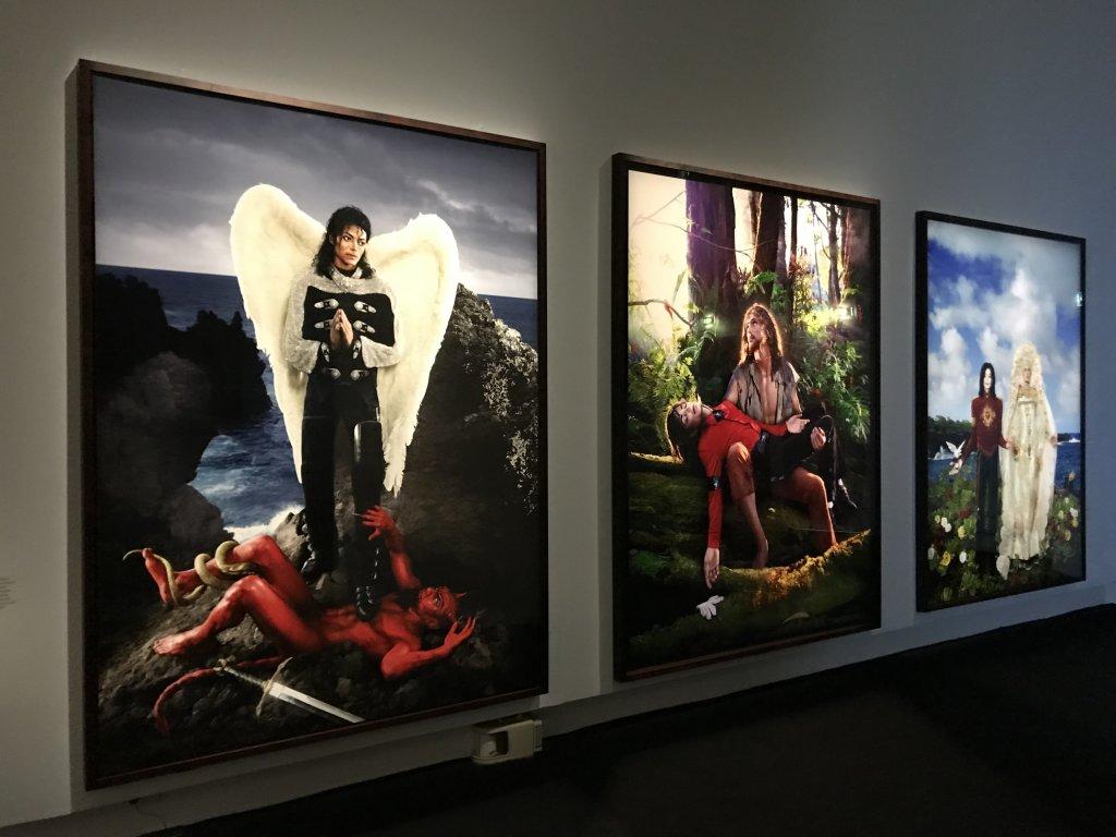 Vue de l'exposition Michael Jackson, On the Wall - Grand Palais (26)