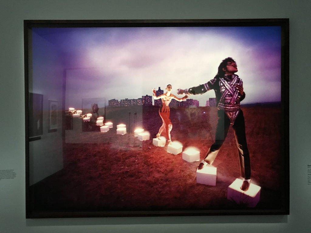 Vue de l'exposition Michael Jackson, On the Wall - Grand Palais (27)
