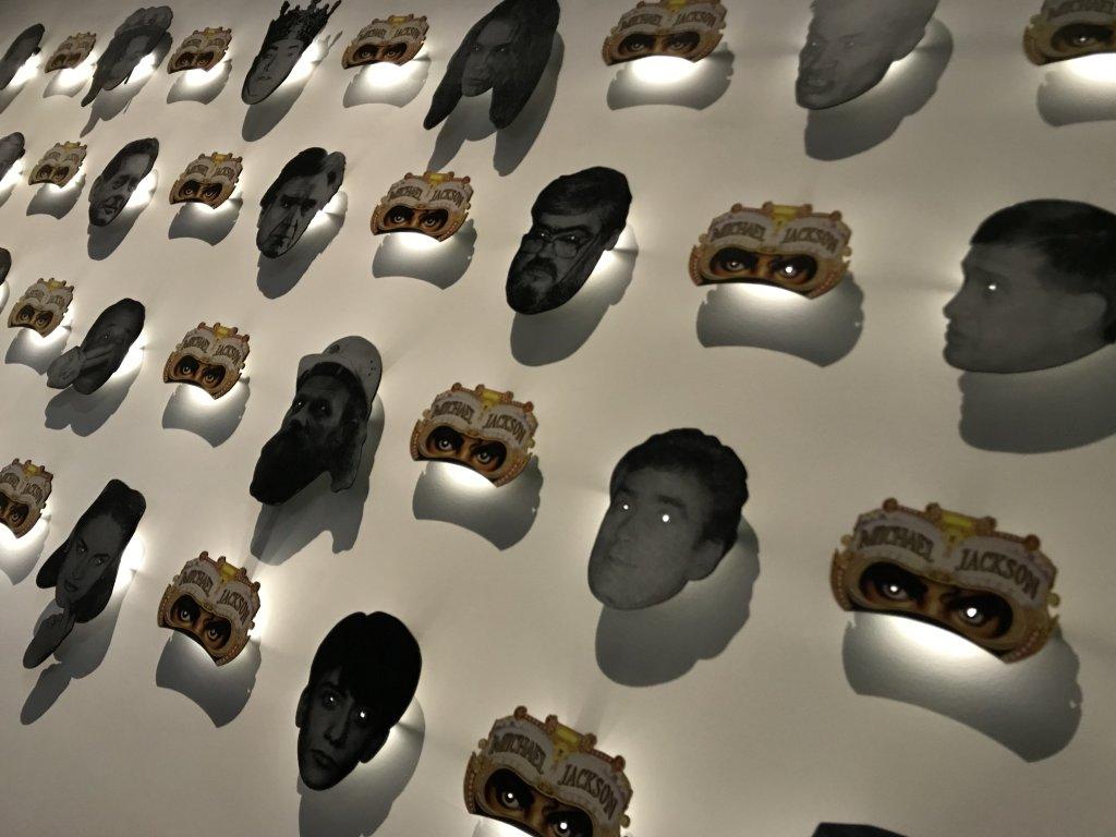 Vue de l'exposition Michael Jackson, On the Wall - Grand Palais (28)