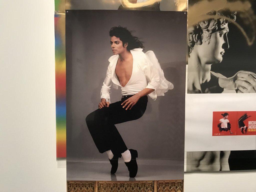 Vue de l'exposition Michael Jackson, On the Wall - Grand Palais (35)