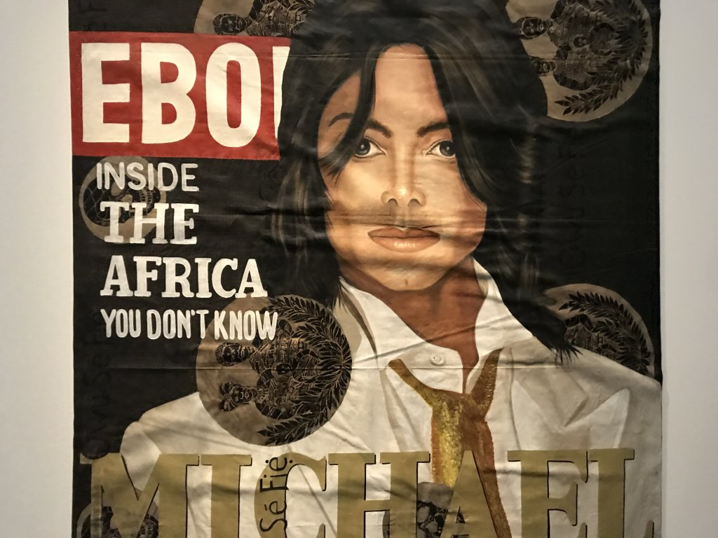 Vue de l'exposition Michael Jackson, On the Wall - Grand Palais (41)