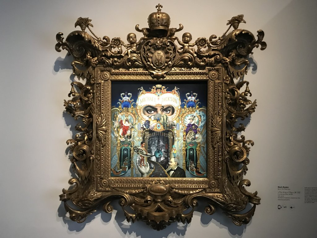 Vue de l'exposition Michael Jackson, On the Wall - Grand Palais (49)