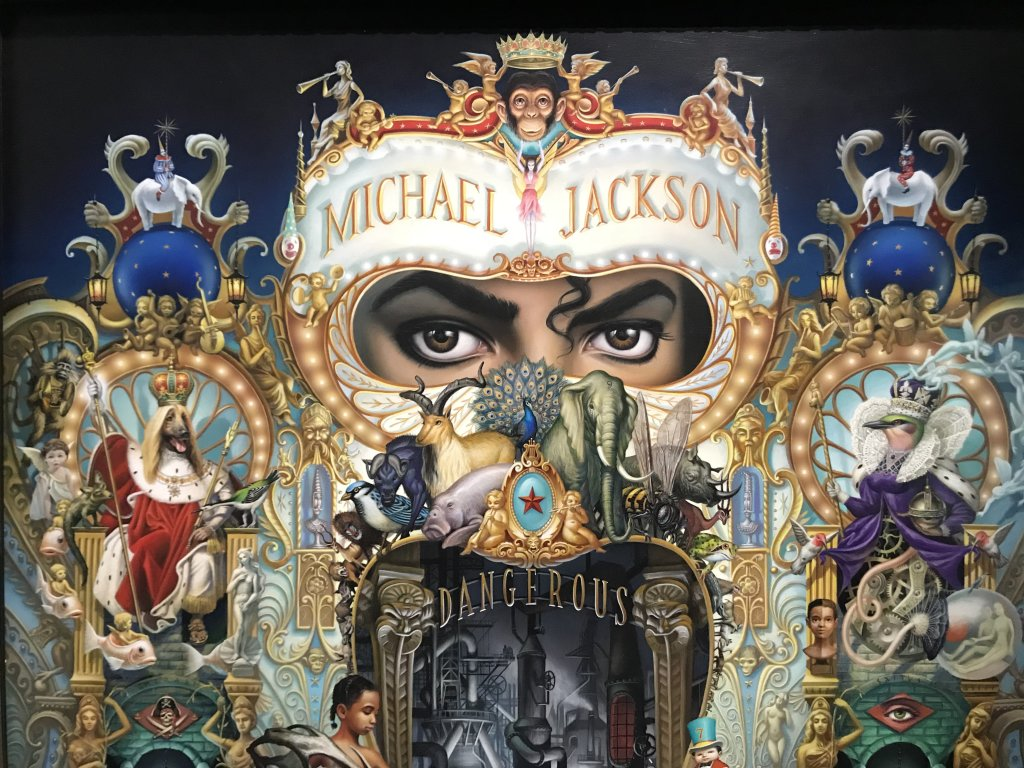 Vue de l'exposition Michael Jackson, On the Wall - Grand Palais (50)