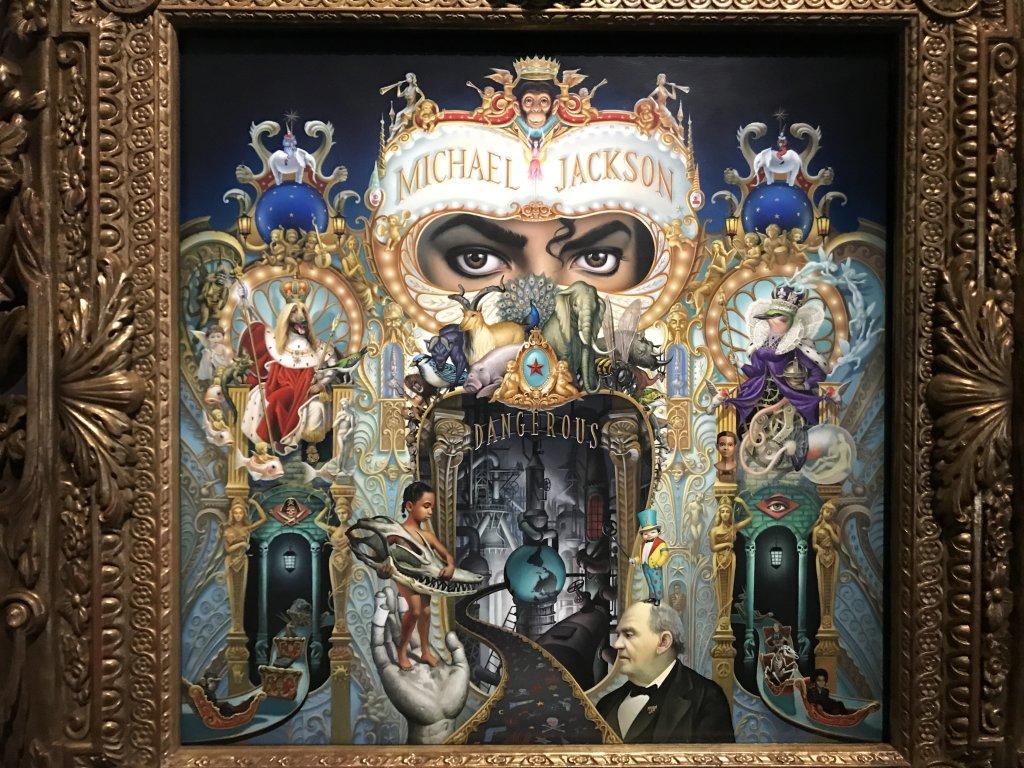 Vue de l'exposition Michael Jackson, On the Wall - Grand Palais (53)