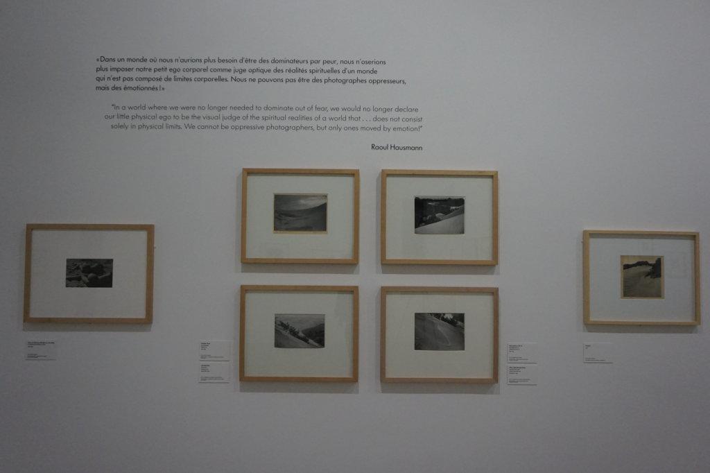 Vue de l'exposition Raoul Hausmann - Jeu de Paume (31)