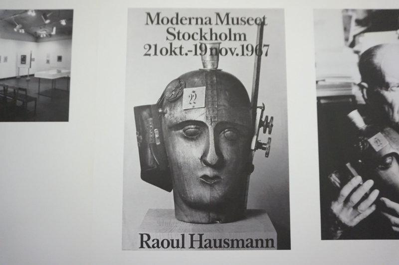 Vue de l'exposition Raoul Hausmann - Jeu de Paume (41)