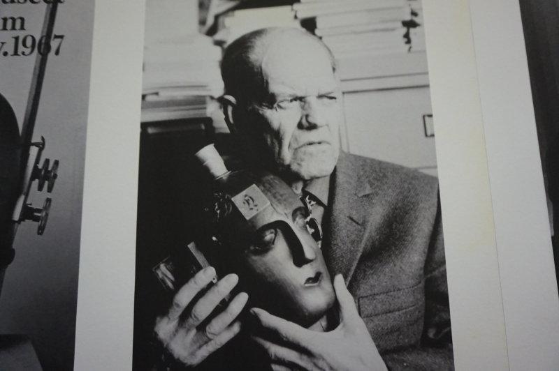 Vue de l'exposition Raoul Hausmann - Jeu de Paume (43)