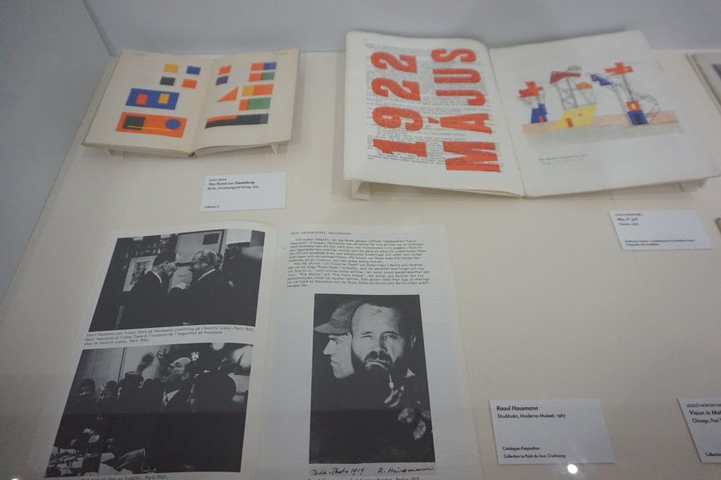 Vue de l'exposition Raoul Hausmann - Jeu de Paume (5)