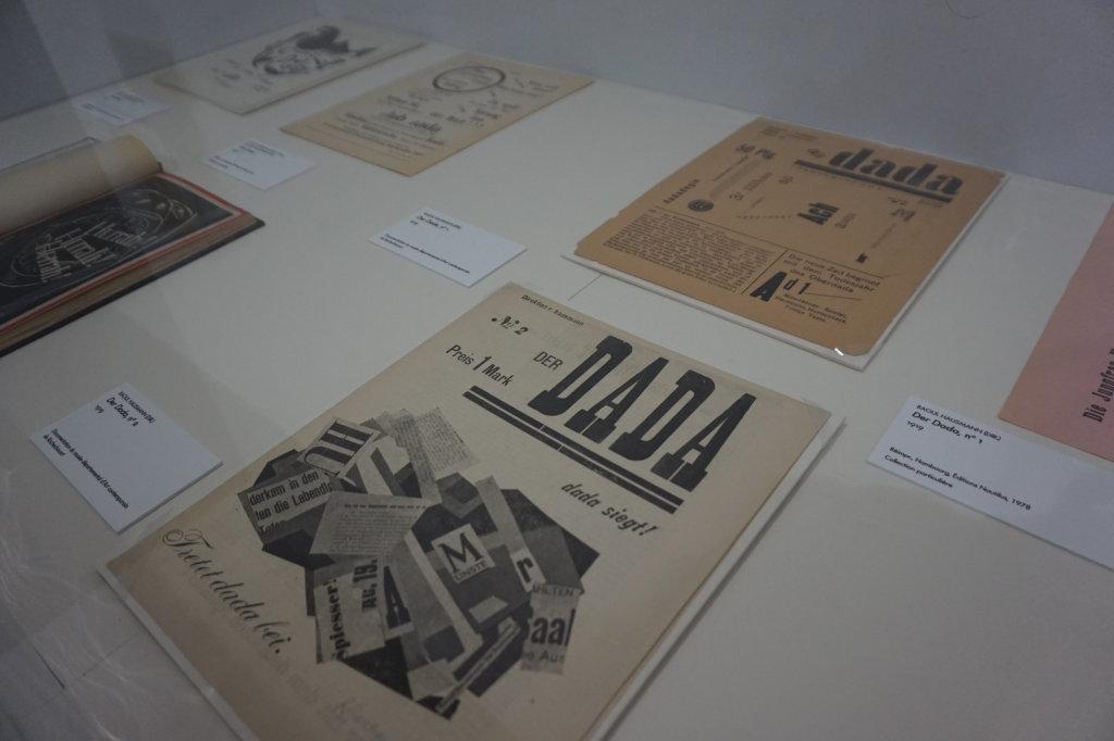 Vue de l'exposition Raoul Hausmann - Jeu de Paume (6)