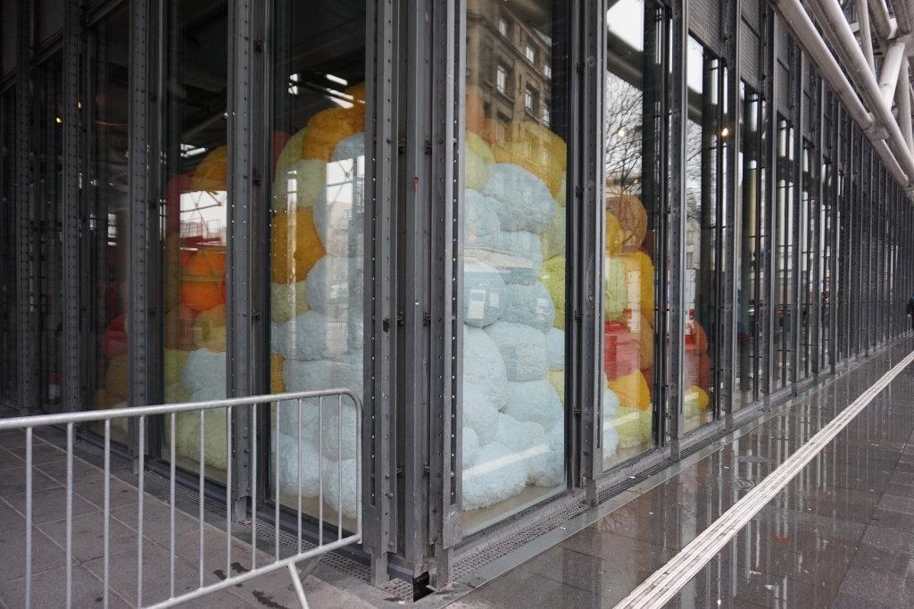 Vue de l'exposition Sheila Hicks, Lignes de vie - Centre Pompidou (114)