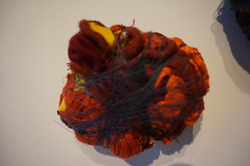 Vue de l'exposition Sheila Hicks, Lignes de vie - Centre Pompidou (24)