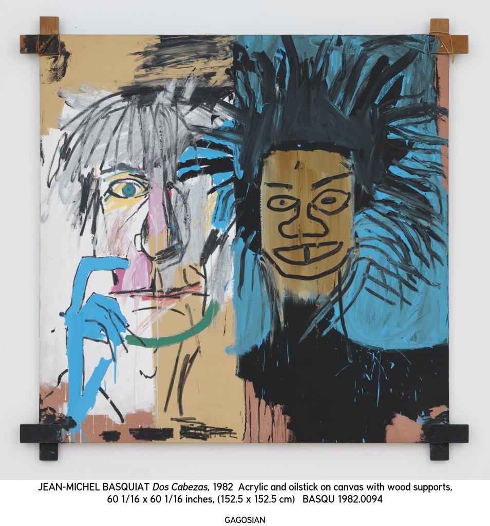 Jean-Michel Basquiat, Fondation Louis Vuitton, Dos Cabezas