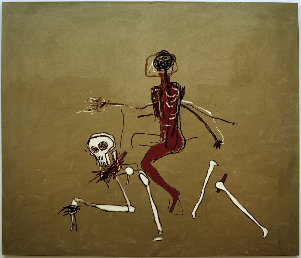 Riding with death, Jean-Michel Basquiat